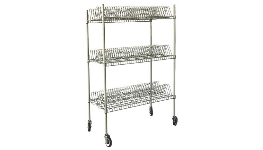 350 200 3 Shelve Wire Rack