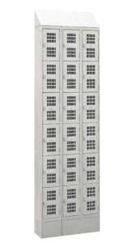 3 Rows Storage Lockers