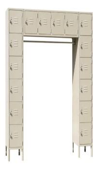 U Shaped Locker